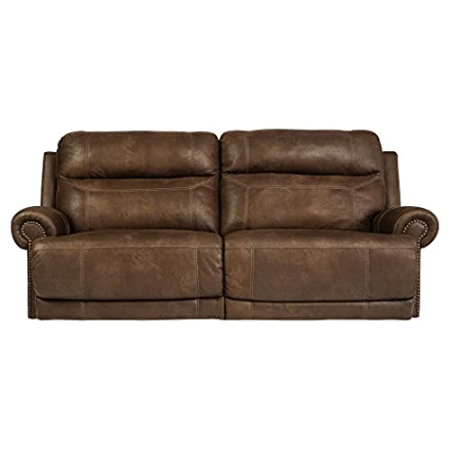 Merveilleux Ashley Furniture Signature Design   Austere Recliner Sofa   Pull Tab Manual  Reclining   Contemporary   Brown