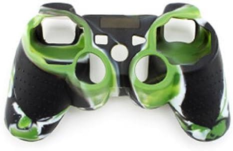 Funda de silicona para mando para controlador de Playstation Sony PS3 PS2: Amazon.es: Electrónica