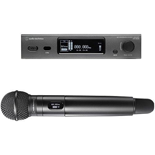 Audio-Technica 3000 Series Wireless System Audio Wireless Handheld Microphone System (ATW-3212/C510DE2)