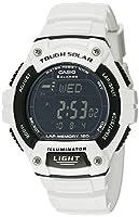 Casio Men's W-S220C-7BVCF White Watch