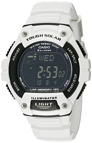 Casio Mens W S220C 7BVCF White Watch