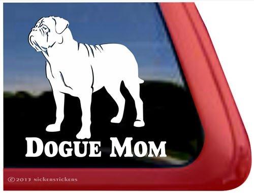 Dogue Mom ~ Dogue de Bordeaux Window - Sticker Dogue Bordeaux De