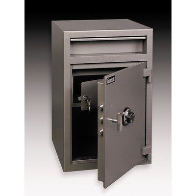 Small Wide Body Commercial Register Tray Safe 2.6 CuFt Electronic Lock: No