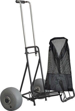 Wheeleez Mini Folding Beach Cart - New Model [並行輸入品] B07R4VFDYT