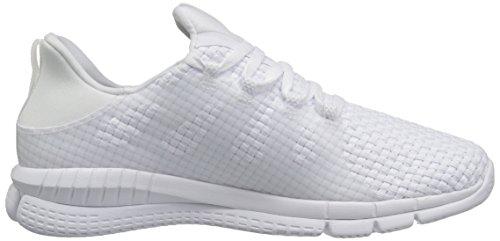 Reebok Femmes Zprint Son Mtm Wvn Chaussure De Course Blanc / Rose Or