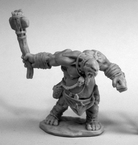 Reaper Miniatures Ogre Smasher #77455 Bones Plastic D&D RPG Mini Figure