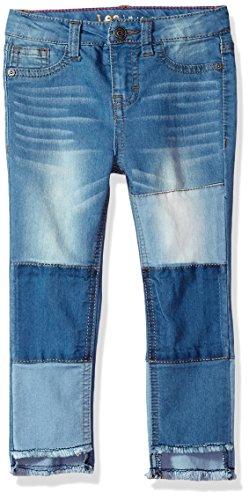 LEE Little Girls' Fashion Skinny Crop Jean, Patch