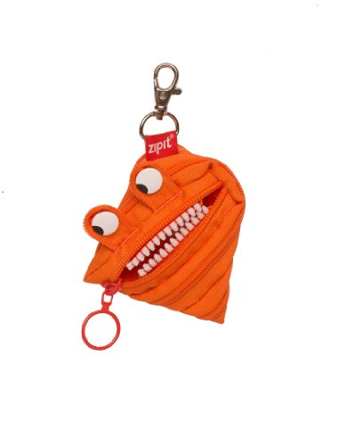 ZIPIT Monster Mini Pouch Coin Purse, Orange
