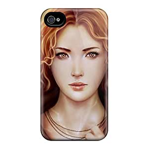 Tpu Fashionable Design Juliette Rugged Case Cover For Iphone 4/4s New
