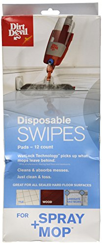 Dirt Devil Disposable Swipes Pads 12 Count