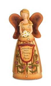 Pavilion Gift Company 29050 Godmother Angel Figurine, 6-Inch