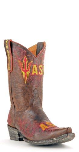 Ncaa Arizona State Solen Djevler Womens 10-tommers Gameday Støvler Messing