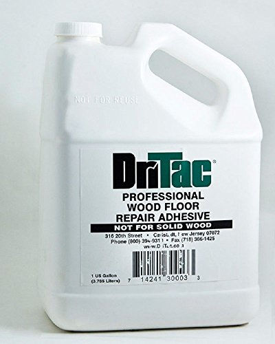 Dritac Professional Wood Repair Adhesive 1 Gallon (Best Glue For Wood Floors)