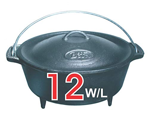 Best Duty #7422 Cast Iron Bake Pot Size 12