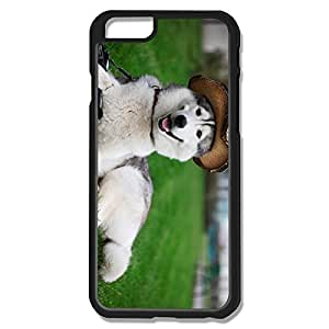 IPhone 6 Cases Husky Dog Wear Hat Design Hard Back Cover Proctector Desgined By RRG2G by runtopwell