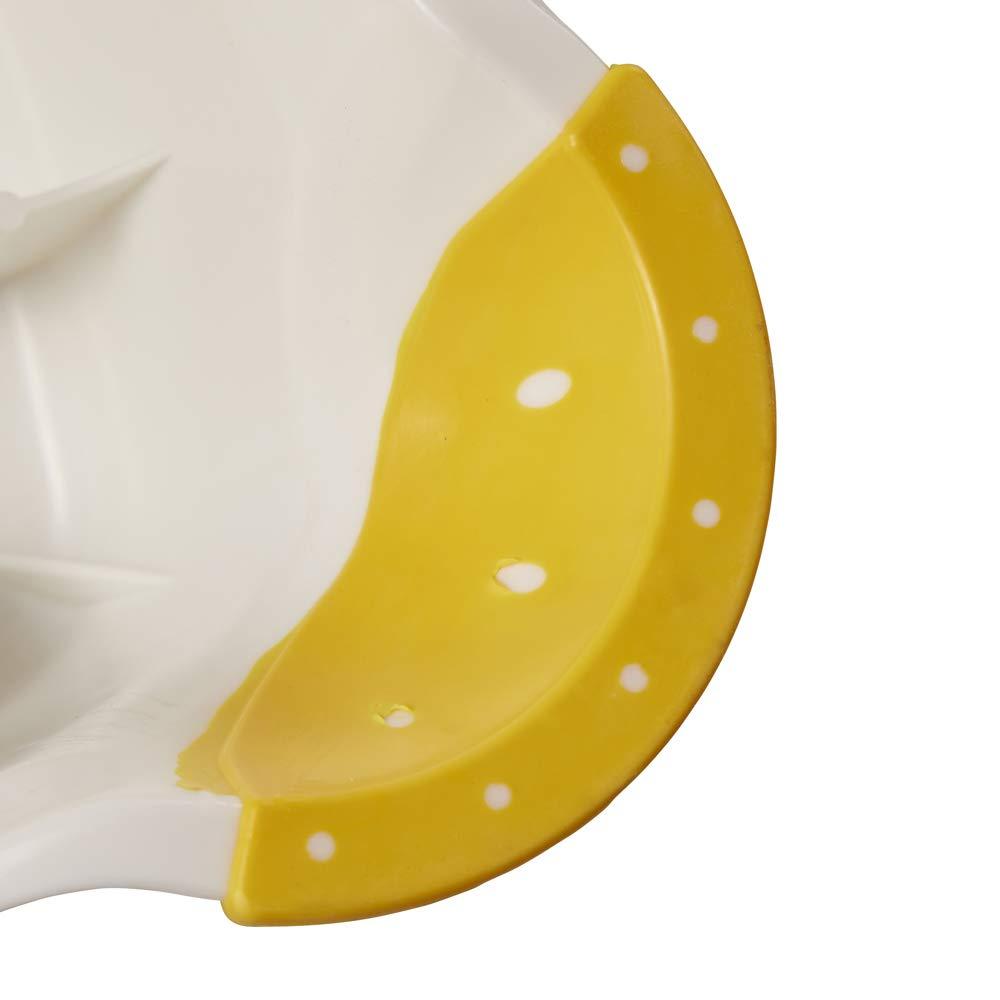 Disney Winnie the Pooh Childrens Toilet Training 21cm Double Step Stool Yellow