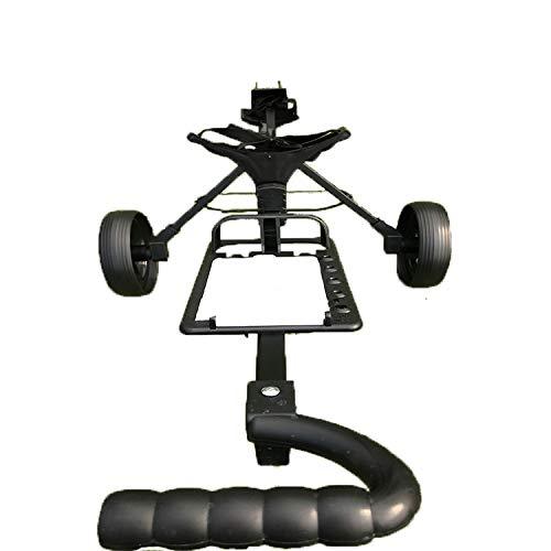 ゴルフトロリープッシュプルカートフットウルトラコンパック軽量クルーザーボタンイージーフォールドプッシュプル   B07K269RYW