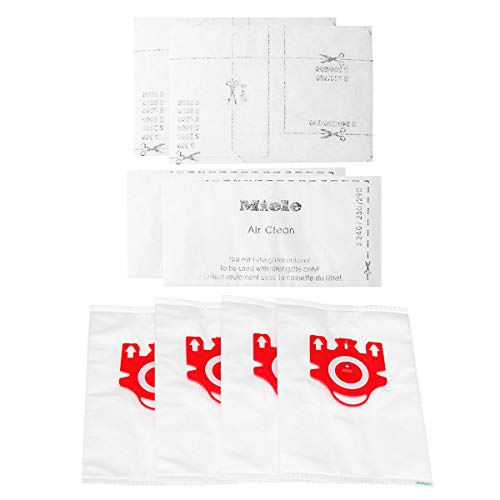- OKIl 4Pcs Vacuum Cleaner Dust Bag+2Pcs Cleaning Dust Collector Filter Accessories For Miele FJM C2 C1