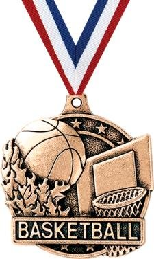 Crown Awards Basketball Medals - 2