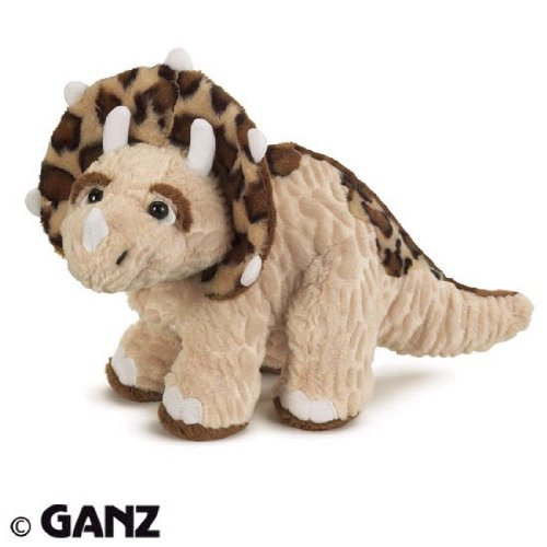 Webkinz Triceratops with Trading Cards