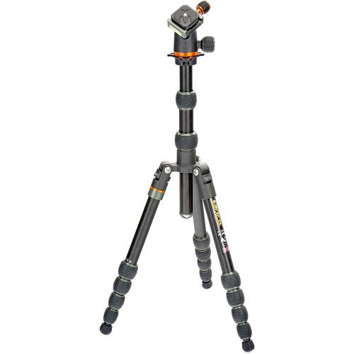 Aluminium, 23mm leg tube, 5-section tripod with AirHed Neo ballhead. by 3 Legged Thing