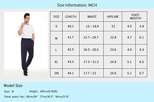 yuyangdpb Men's Athletic Joggers Pants Running Pants Cotton Sweatpants with Pockets 7