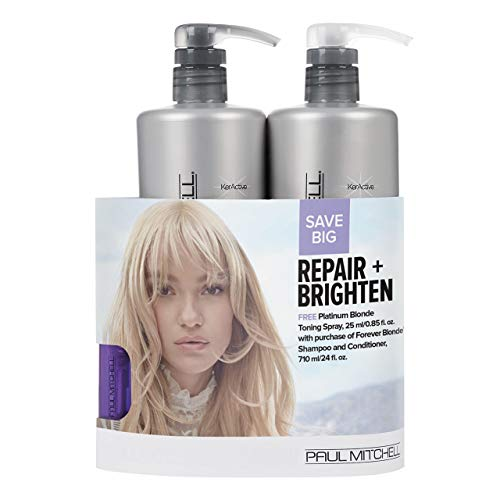 Paul Mitchell Repair And Brighten Blonde Trio Set
