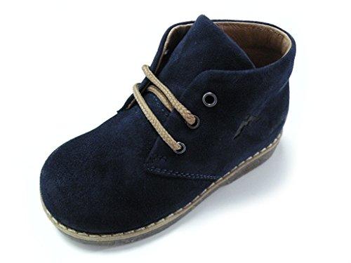 Andrea Morelli Zapato Cordones Primi Passi Azul macho azul turquesa