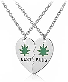 buds friendship necklaces