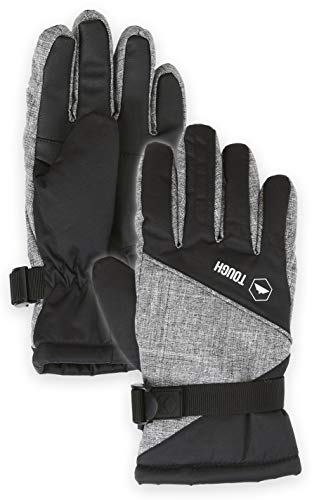 Pink Reviews Shell (Kids Winter Snow & Ski Gloves - Youth Gloves Designed for Skiing, Snowboarding, Shoveling - Waterproof, Windproof Thermal Shell & Synthetic Leather Palm - Fits Toddlers, Junior Boys and Girls)