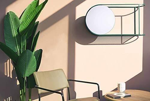 Bathroom Mirror,Round Mirror Mirror Wall Mount with Shelf Vanity Mirror Bathroom Mirror