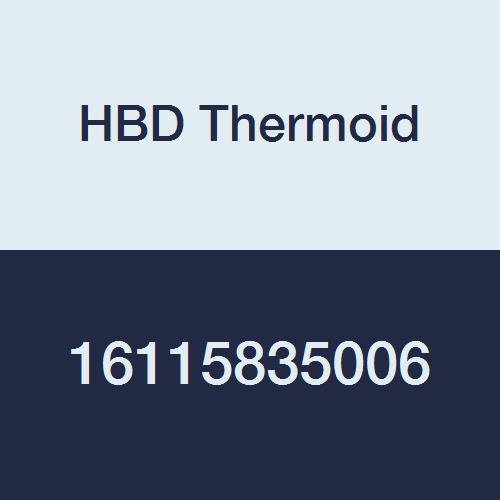 6 Length 3-1//2 ID Black 6/' Length 3-1//2 ID 16115835006 HBD Thermoid CR 1158 Softwall Aromatic Fuel SAE 30R2 Type 2 Hose 150 PSI