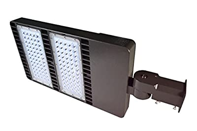DLC ETL 300w LED Street Light,Road Lamp,Parking Lots Pole LED Outdoor Site and Area Light,Shoe Box Light,30000LM,5000k