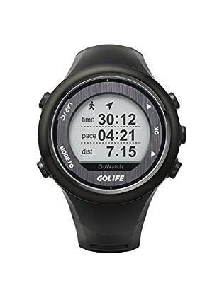 Running Watch GPS GOLiFE Adventurer Outdoor Smart Sport Watch for Men Triathlon Swimming Climbing Hiking Cycling and Running (820i(Black))