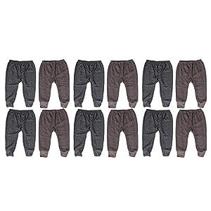 Krystle Boy's Woollen Thermal Pyjamas – Pack of 12