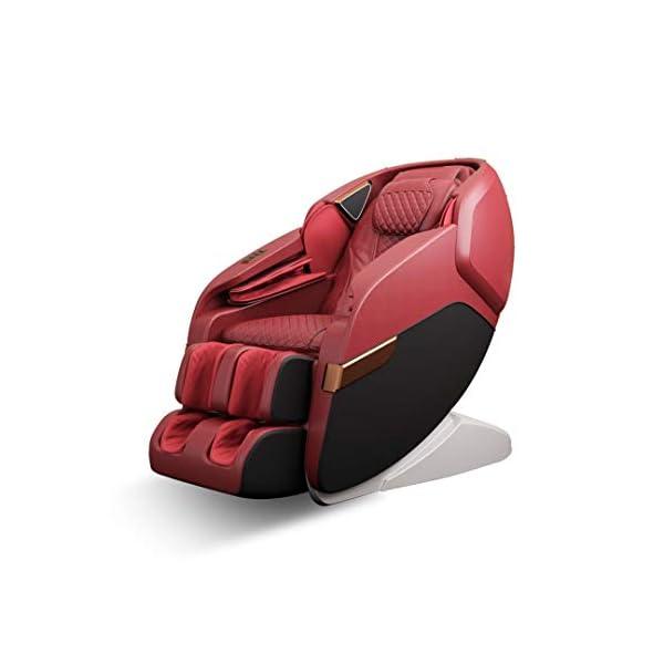 41wHGlMW5hL Robotouch Echo Pro Full Body Massage Chair (Red)