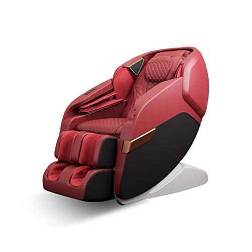 41wHGlMW5hL Robotouch Echo Pro Full Body Massage Chair (Red)