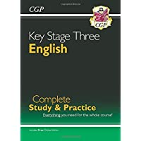 New KS3 English Complete Study & Practice (with Online Edition) (CGP KS3 English)
