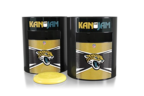 Kan Jam NFL Jacksonville Jaguars Disc Gamejacksonville Jaguars Disc Game, Team Color, 11.875
