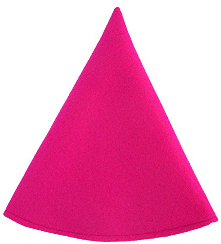 [Red Gnome Hat Girls Costume Cap (Fuchsia Pink)] (Gnome Hats)