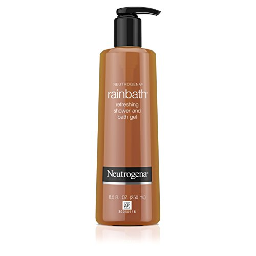 Neutrogena Rainbath Refreshing and Cleansing Shower and Bath Gel, Moisturizing Body Wash and Shaving Gel with Clean Rinsing Lather, Original Scent, 8.5 fl. oz (Pack of 6)
