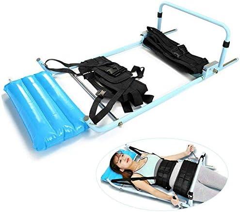 Rziioo Lumbar Traction Bett, Home Use Halswirbelsäule Erweiterung Stretcher Vorrichtung zur Physiotherapie, Entlasten Hals & Lendenwirbelsäulenspondylose