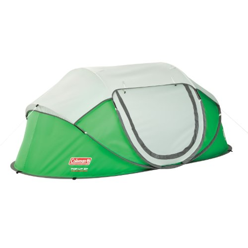 - Coleman 2-Person Pop-Up Tent