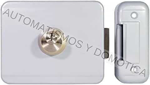 Cerradura electrica puerta batiente automática, electrocerradura bobina 12v Remocon RMS90 puerta garaje batiente automatica o peatonal: Amazon.es: Bricolaje y herramientas