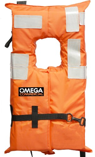 Universal Polyester Life Jacket Vest(Orange) - 4
