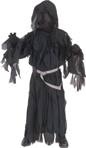 [Rubies Lord of The Rings Child's Ringwraith Costume, Medium] (Lotr Elves Costumes)