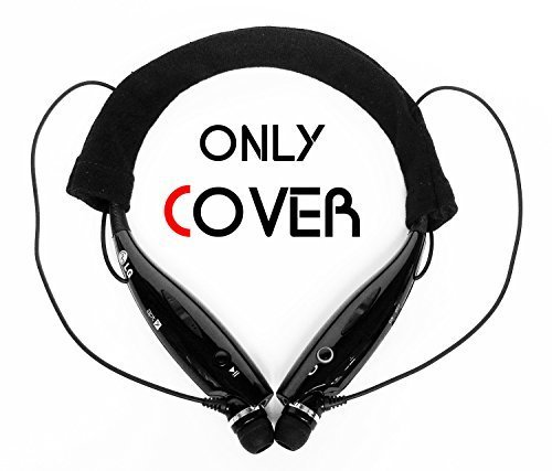 FitSand Black Soft Cotton Protector Sleeve Headset Cover for