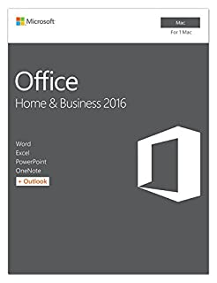 Microsoft Office Home and Business 2016 for Mac | Mac Key Card (B011DMUIQY) | Amazon Products