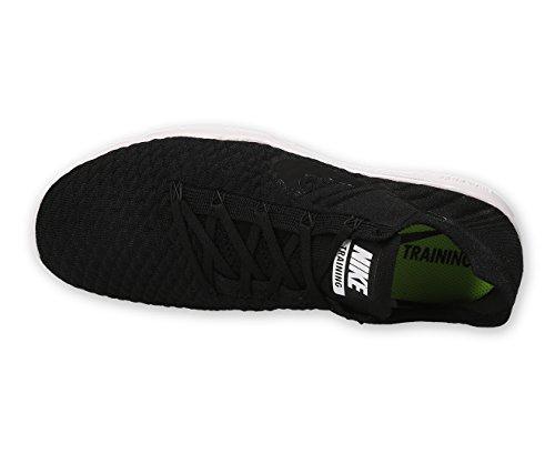 Nike Free Tr Flyknit 2 Vrouwen Loopschoenen Zwart / Zwart-wit