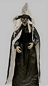 Witch, Halloween Witch, Halloween Prop, 72 Inch Witch